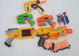 Nerf Bundle - 6 all in working condition