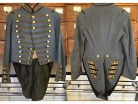 Stunning vintage NY National Guard Coatee Uniform Jacket made by Ridabock and Co.