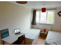 Lavishing Twin room is all set up to rent now. 2 weeks deposit. No fees required!!