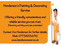 Henderson's Painting & Decorating Service