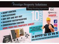Prestige Property Solution : Damp Proofing Specialists