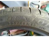 Dunlop 225/45/r17 225 45 17