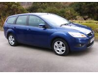 2009 Ford Focus Style 1.6 Estate with New 1 Yrs MOT