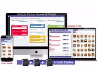 TAKEAWAY + DELIVERY Software, Table Manangement System, EPOS Till