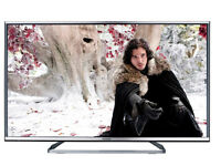 panasonic viera tx-42as650b led. 3d . smart. wifi. free sat