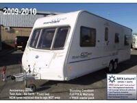 2009-2010 BAILEY RANGER GT60 - 620/6 - TWIN AXLE - 6 BERTH - Series 6 - FIXED BED – CRIS REG' - A1