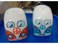 camper van salt and pepper shaker