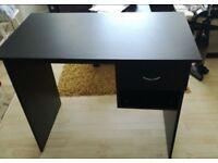 Black Desk 90cm width