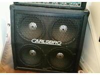 Carlsbro 4 x 12 speaker cabinet