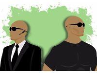 Bodyguard/personal driver/private investigator/handymen