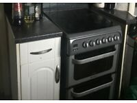 Hotpoint Ultima electric cooker freestanding