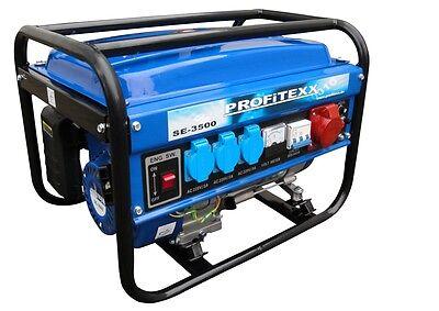 PROFiTEXX Stromerzeuger Stromaggregat 2700W 230V/400V