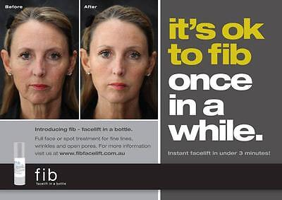 FIB Facelift in a bottle - BEST Anti- wrinkle Facelift Serum - Reduce fine (Best Vegan Skin Care Line)