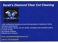 Diamond Clear Cut Cleaning-Professional Domestic Cleaning Service