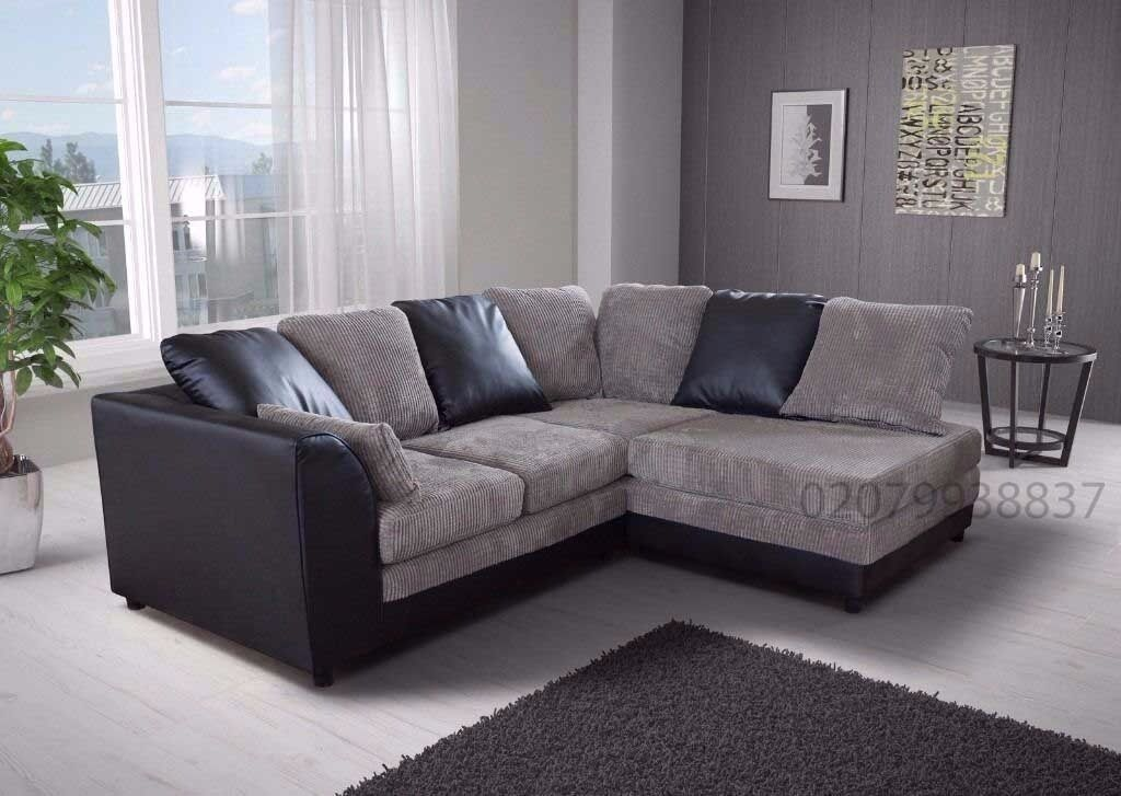 ❤Best Buy❤ Supreme Quality ❤ New Byron Jumbo Cord + Leather Sofa. Avlble in  Corner or 3 and 2 Seater | in Uxbridge, London | Gumtree - �Best Buy❤ Supreme Quality � New Byron Jumbo Cord + Leather