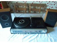 Philips (Made Germany) 1970s Music Centre Record Player/Tape/ Radio/Speakers perfect working Ex cond
