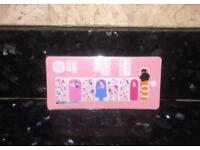 🎀 Micky Mouse Full Cover Self Adhesive Nail Wraps 🎀