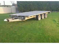 Ifor Williams tri axle 14x6-6 aluminium floor
