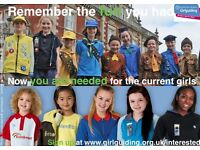 Girlguiding UK Needs Volunteers