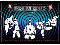 Shorinji Kempo Classes. First class free, first Month £10 Inc. a Kempo T shirt.