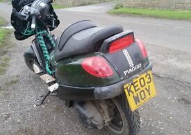 Piaggio X9 Evolution 500cc Rat-bike/Project