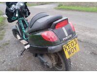 Piaggio X9 Evolution 500cc Rat-bike/Project