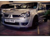 Clio sport 172 sold as seen 'VALVE RATTLE'