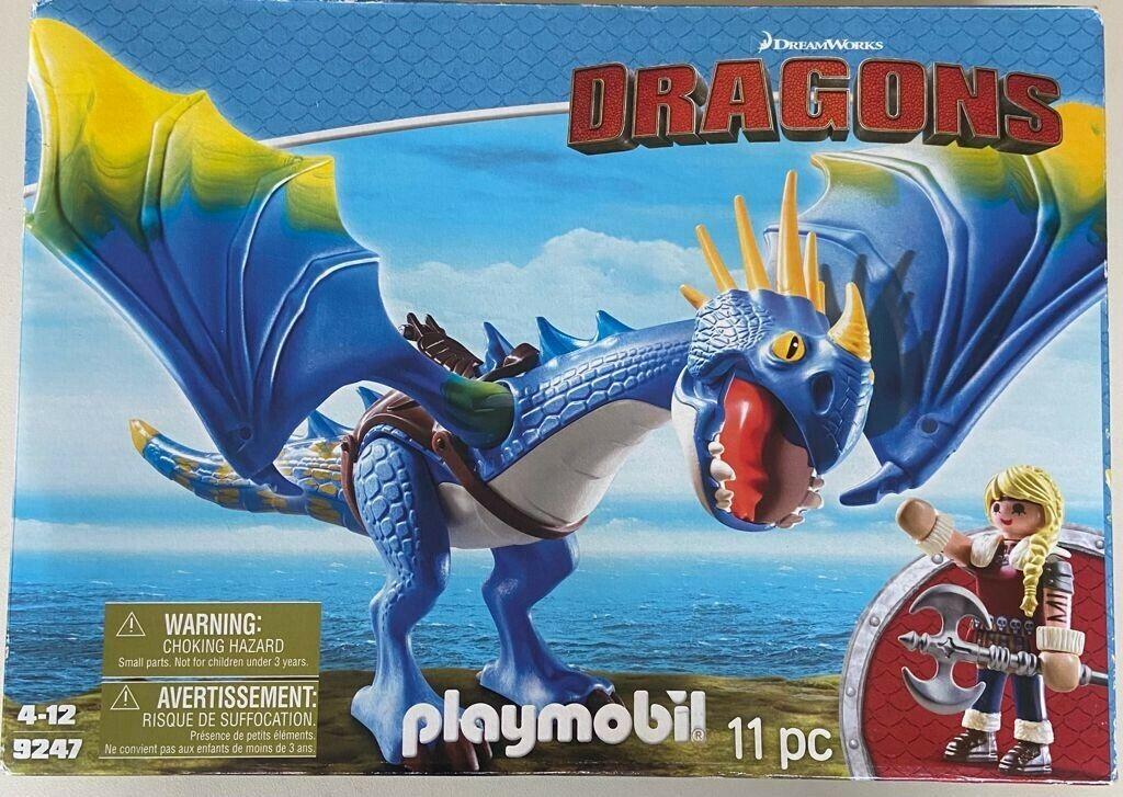 Playmobil 9247 Dragons 11pc 4-12, Neu, aber Verpackung wurde geöffnet
