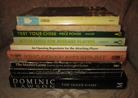 Chess Books - 9 assorted titles