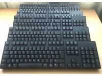 Job Lot of 5 x Dell USB Standard Keyboard UK Layout
