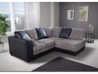 **BRAND NEW BENSON JUMBO CORNER OR 3+2 SOFA **EXPRESS DELIVERY**