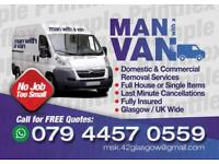 Removal from £15 man with van call 07480526654