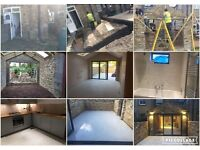 Builder/Building, Plasterer/Plastering, Painter/Painting, Tiler/Tiling, RSJ Fitting, Contractors