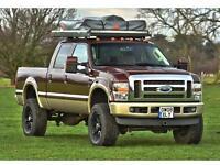 Ford F-250 Super Duty 4x4 camper truck Modified LHD