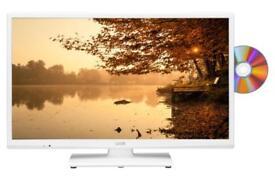 WHITE TV/DVD combo