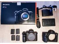 Sony a7r II - MINT condition, Shutter 1835, extra: 2 batteries, case, 32mb SD card
