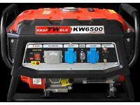 Generator Kraftwele KW6500 1Phase LIMITED Petrol 4,5KW