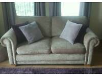 DFS Two Seater Fabric Sofa