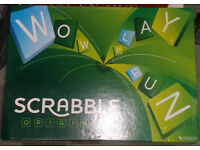 Brand new original board games (Monopoly, Scrabble, Ingenious)