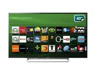Sony Bravia 40 inch LED Smart Full HD TV, WiFi, 2016 year, immaculate picture