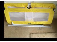 Tomy yellow bed guard