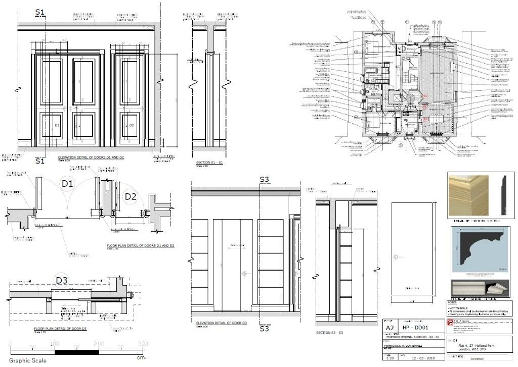 Architectural CAD Draughtsman And Illustrator For Planning Applications And Interior  Design Projects