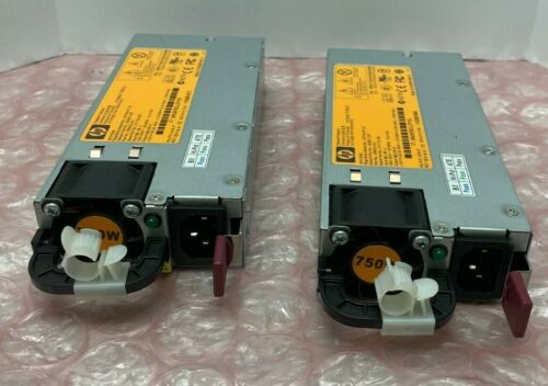 HP 506821-001 HSTNS-PL18 POWER SUPPLY (QTY 2)