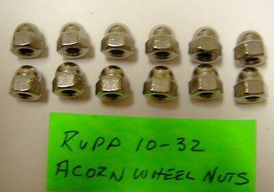 Rupp  TT-500,  XL-500,  XL-350 & Other Minibike Stainless Steel Acorn Wheel Nuts