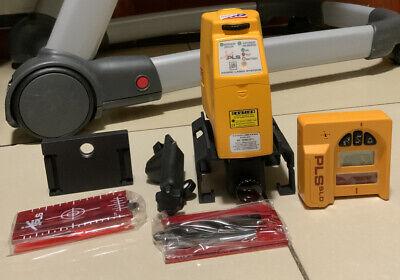 Pls Pacfica Lser Systems Kit Cross Line Laser Level