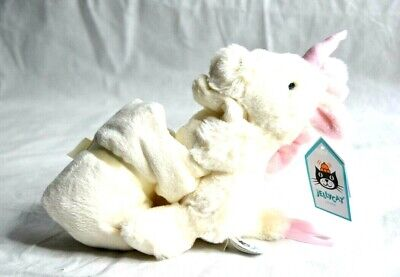 Jellycat Bashful Unicorn Soother Baby Blanket New