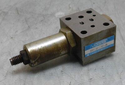 Vickers Hydraulic Valve Xm1-3f1-30-ja Used Warranty