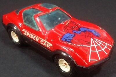 Vintage 1980 Buddy L SPIDER CAR Spider-Man Vehicle