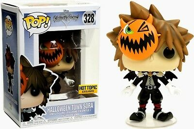 Funko POP! Games ~ HALLOWEEN TOWN SORA EXCLUSIVE VINYL FIGURE ~ Hot Topic