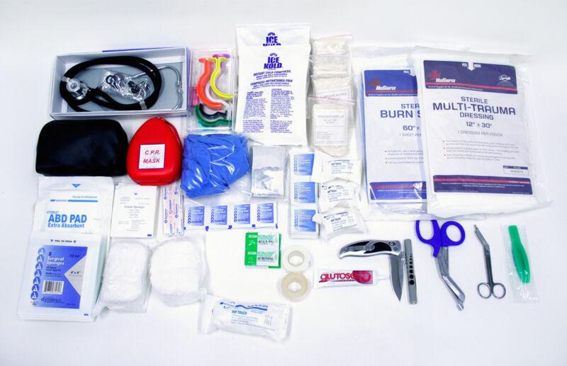 Paramedic/EMT/Firefighter TRAUMA BAG INITIAL STOCK KIT